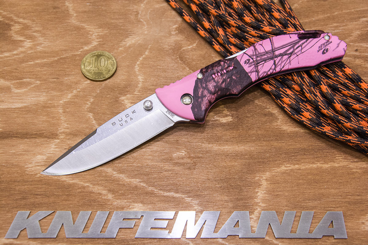 Buck Bantam, BBW, Mossy Oak Pink Blaze Camo 79