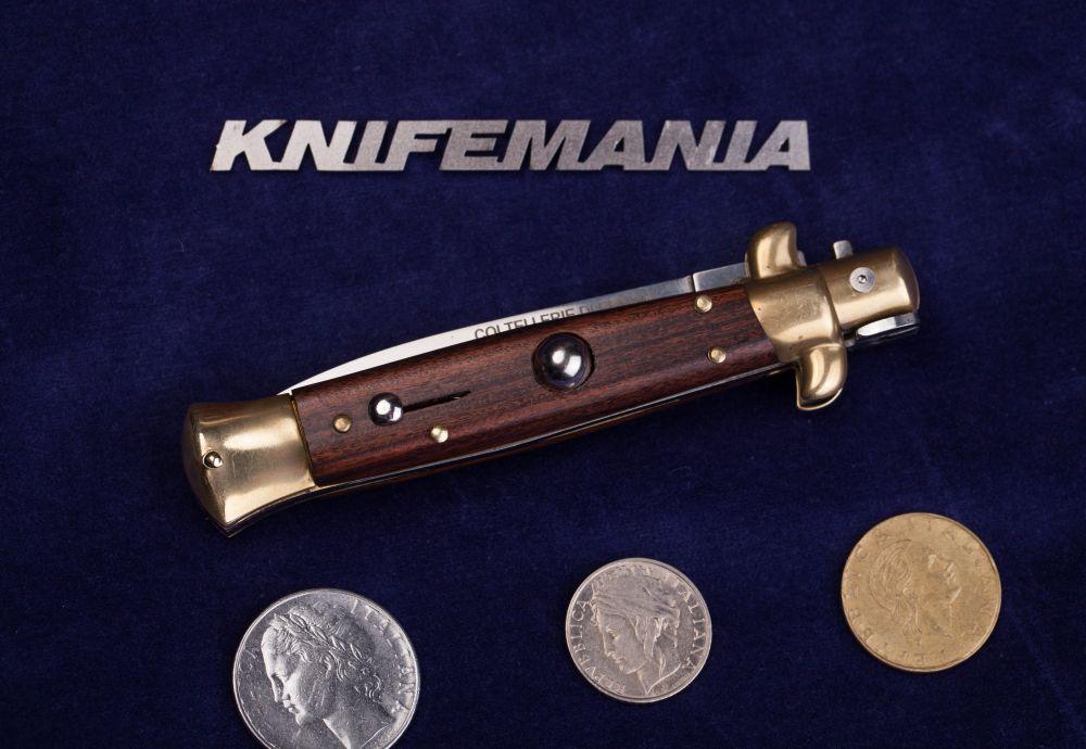 Armando Beltrame Coltellerie Italian Brass Cocobolo Dagger Stiletto