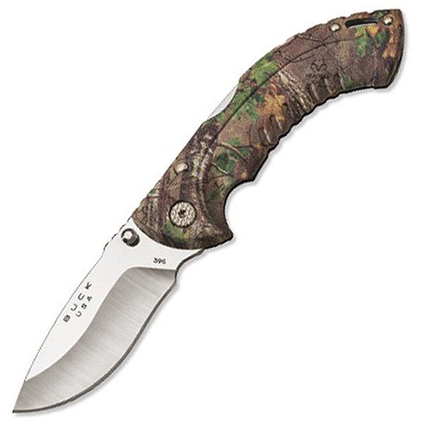 Buck Folding Omni Hunter 10 pt, RealTree Green