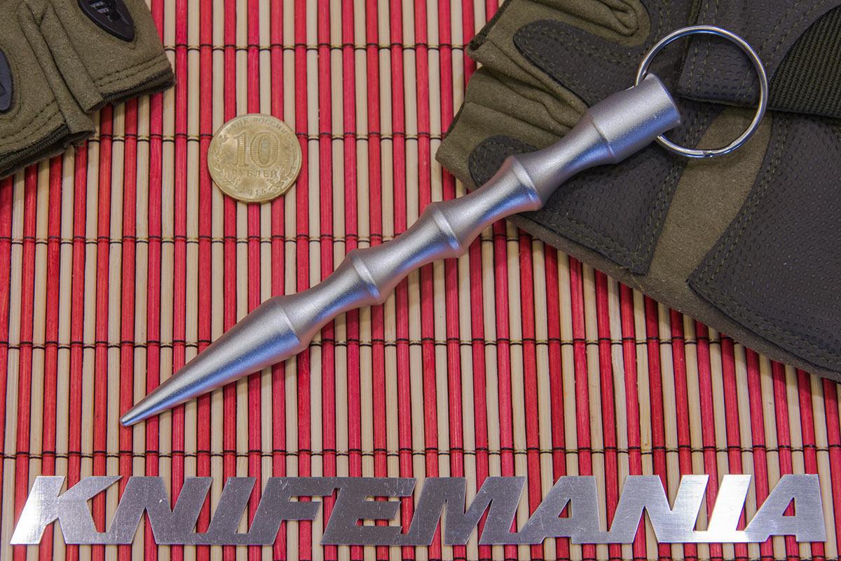 Gen Pro Kubaton, Slim Aluminum Body, 5.5 in., Silver