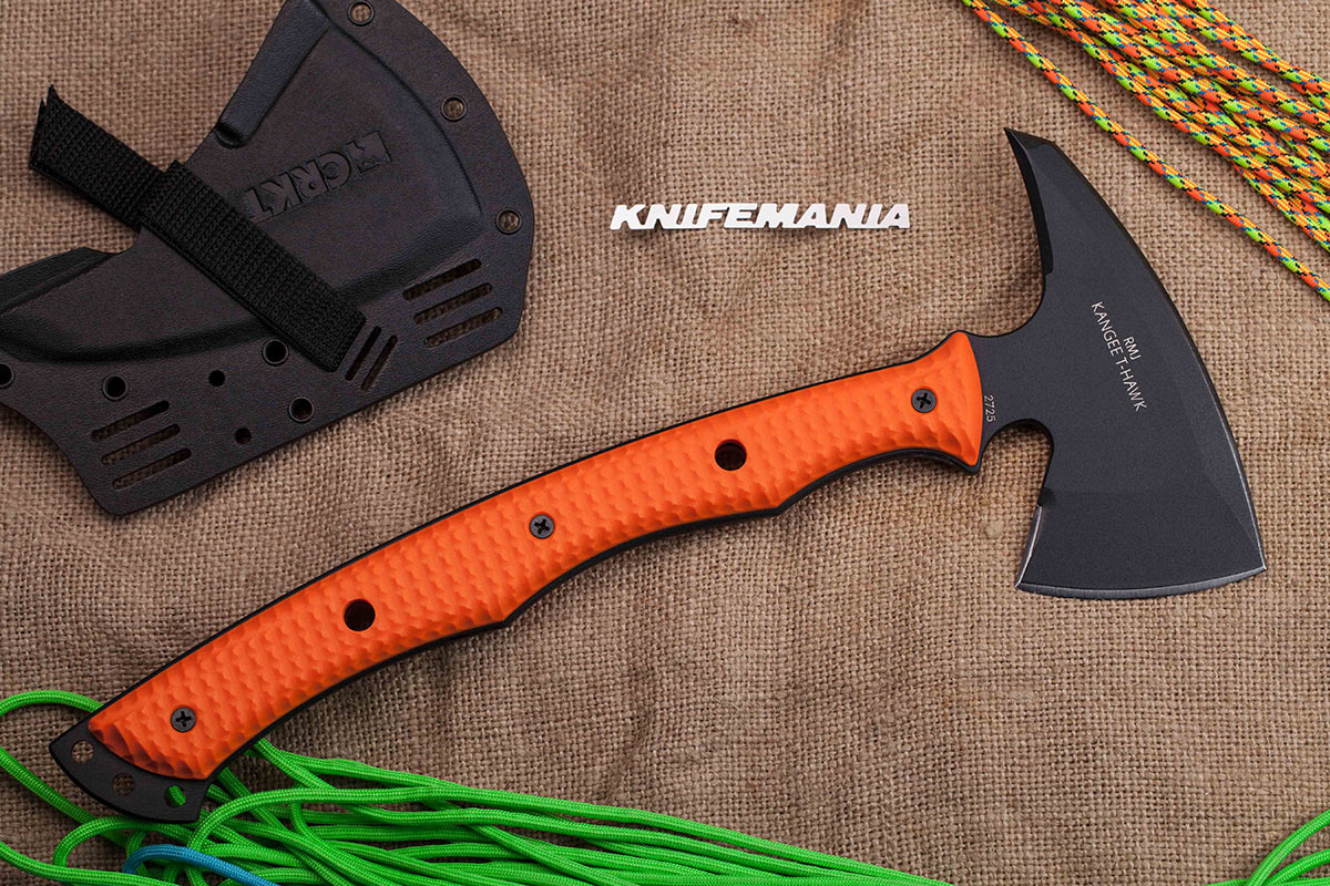 CRKT Kangee T-Hawk Orange
