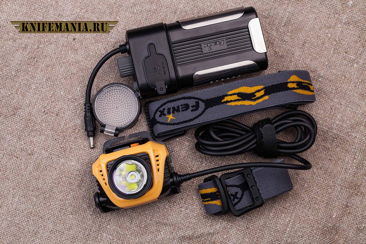 Fenix HP30 желтый