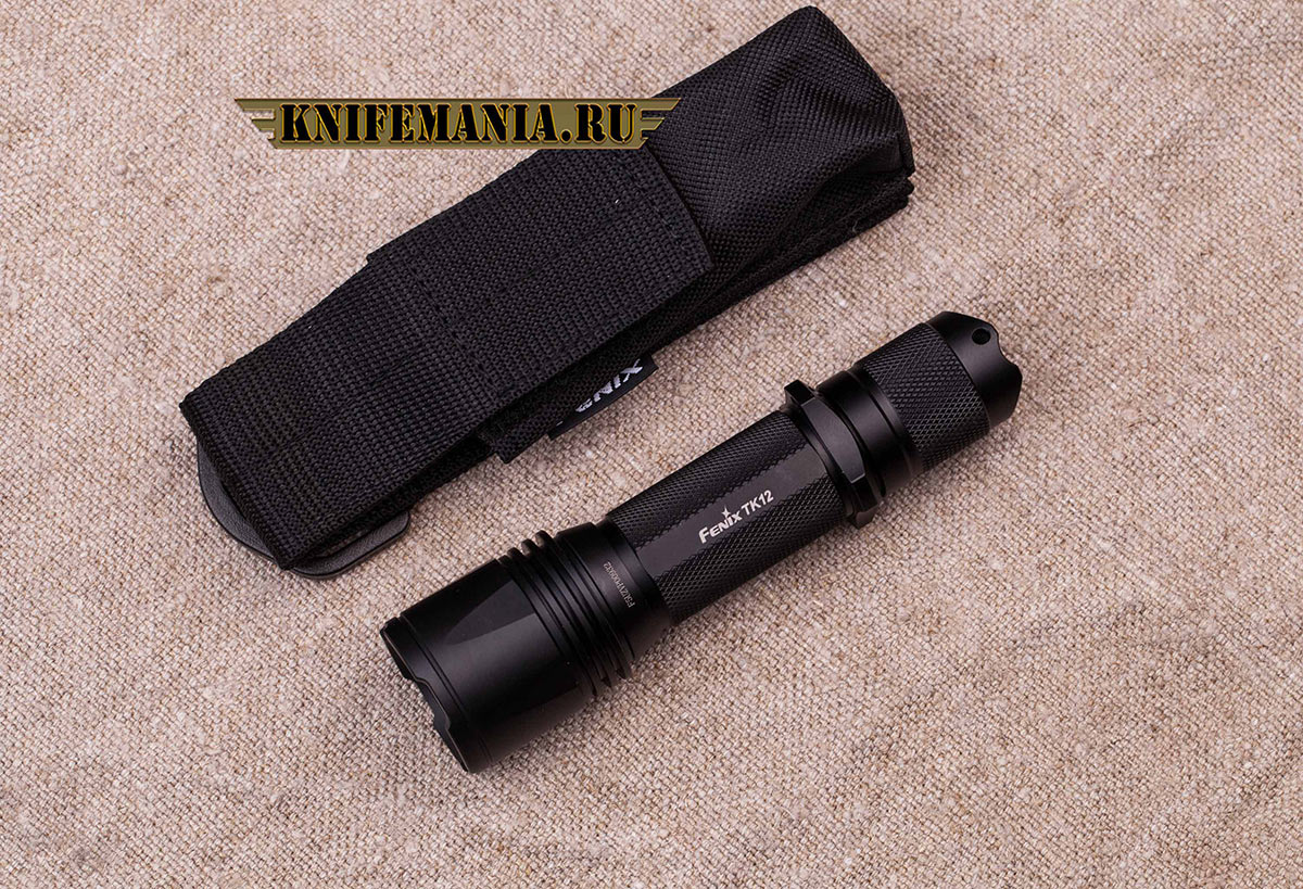Fenix TK12 + AR102 + аккумулятор 2400 + зарядное устройство TR-002