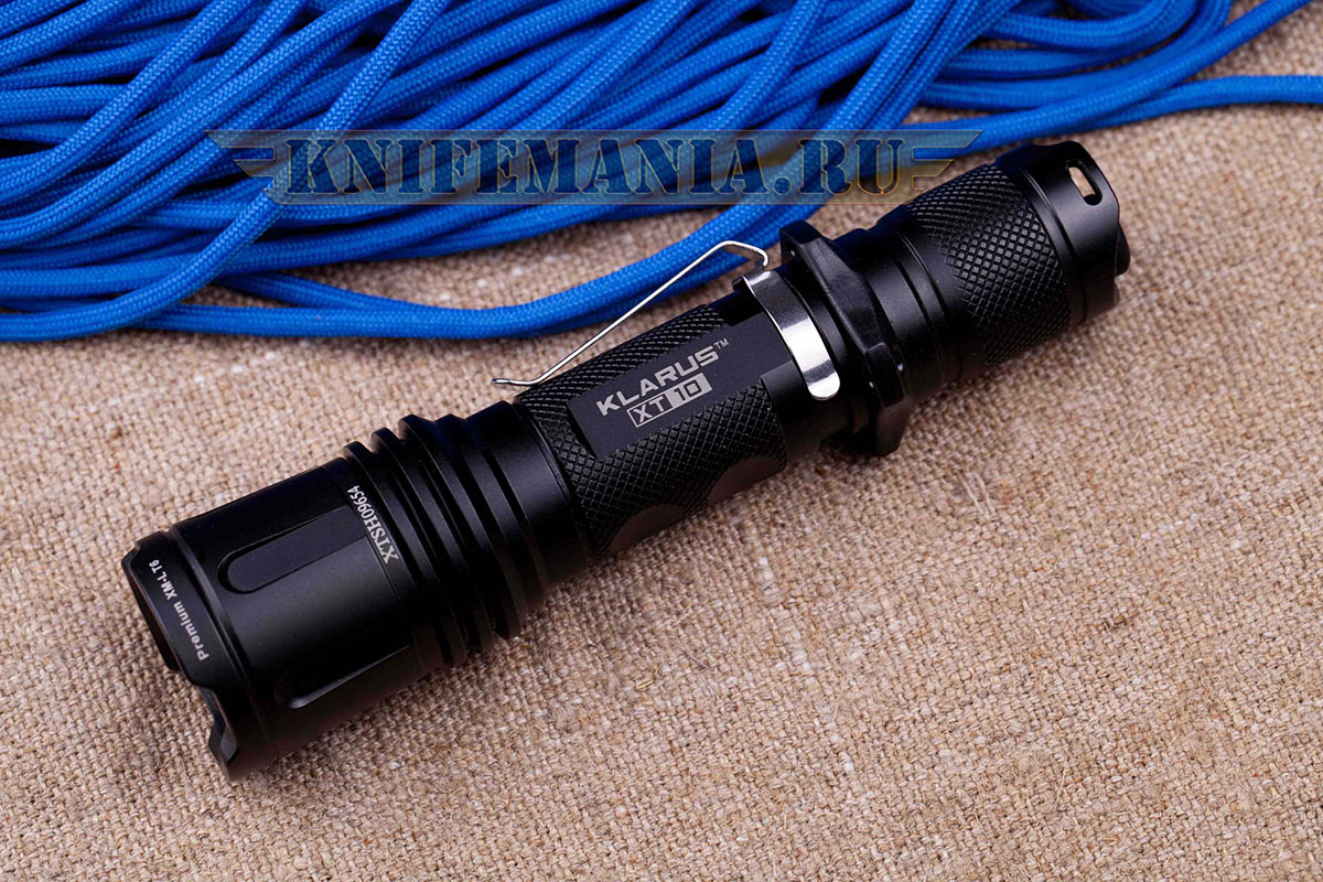 Klarus XT10 Tactical Torch (XM-L)
