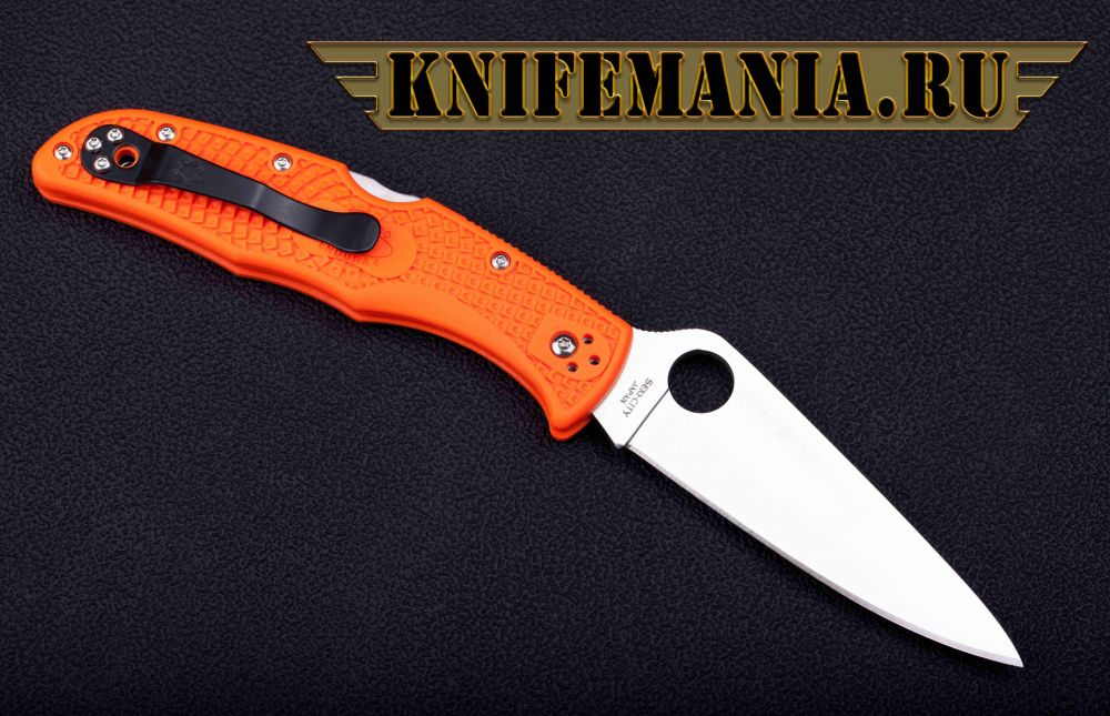 Spyderco Endura Flat Orange C10FPOR