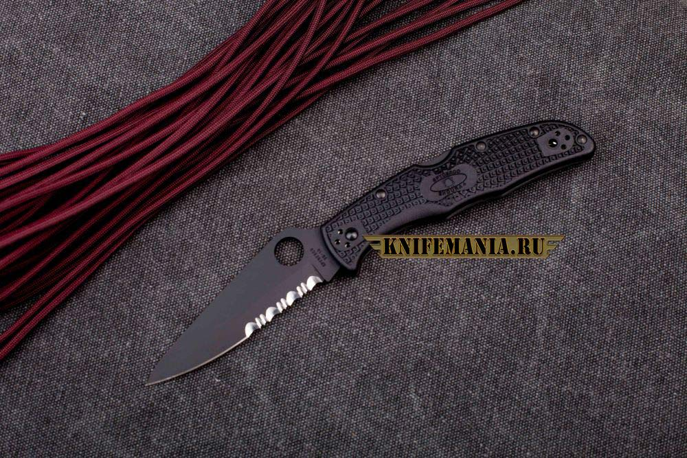 Spyderco Endura 4 Black Blade C10BBK