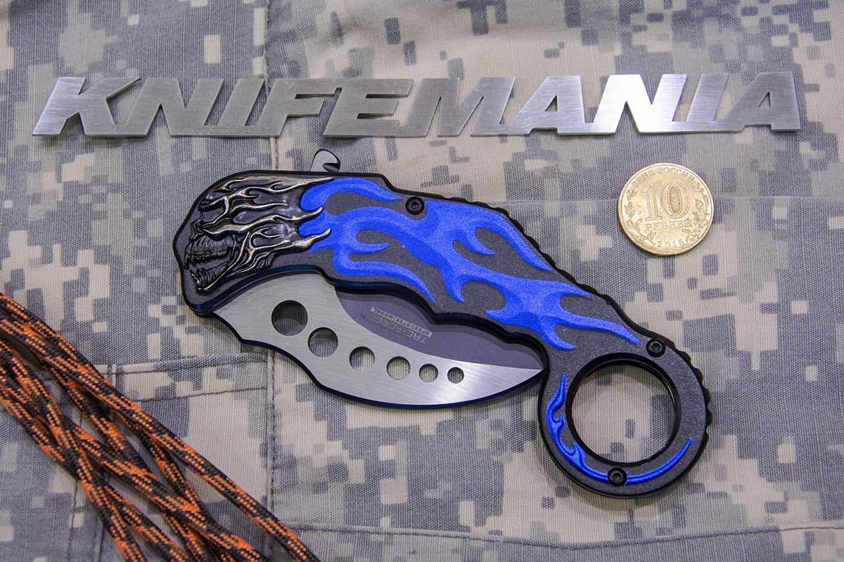 MTech Karambit Linerlock A/O Blue