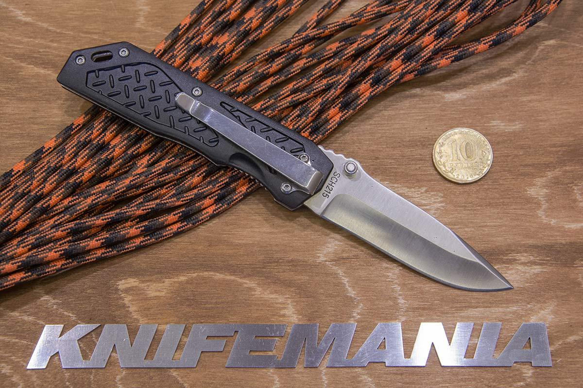 Schrade Black Aluminum SCH215