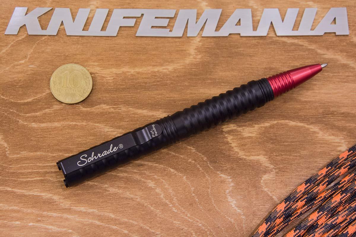 Schrade Tactical Pen Black/Red