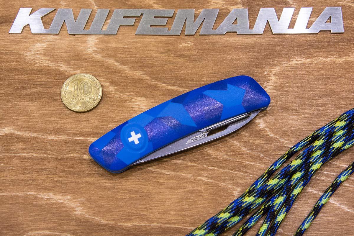 Swiza C01, синий ливор